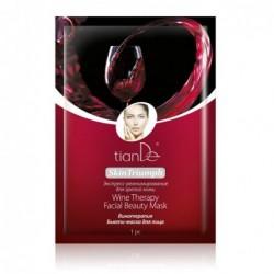 """Grožio kaukė veidui """"Vyno terapija"""""""