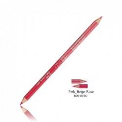 Dvipusis lūpų kontūro pieštukas (rožinė)