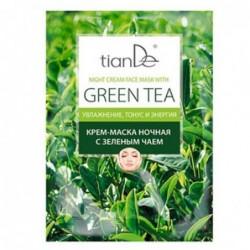 """Kaukė-kremas nakčiai """"Žalioji arbata"""""""