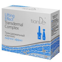 Transderminis kompleksas - liftingo efektas