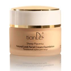 Toning face cream (light)