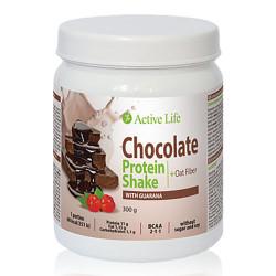Baltyminis kokteilis su guarana (šokoladinio skonio)