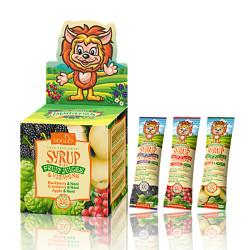 Sirupas su vaisių sultimis ir vitaminais