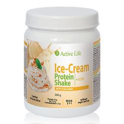 Baltyminis ledų skonio kokteilis su kolagenu ir su saldikliu